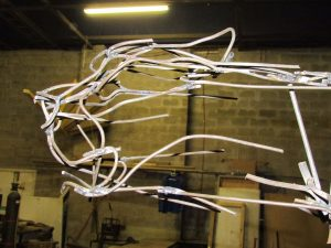 sculpture progress 19 july 012